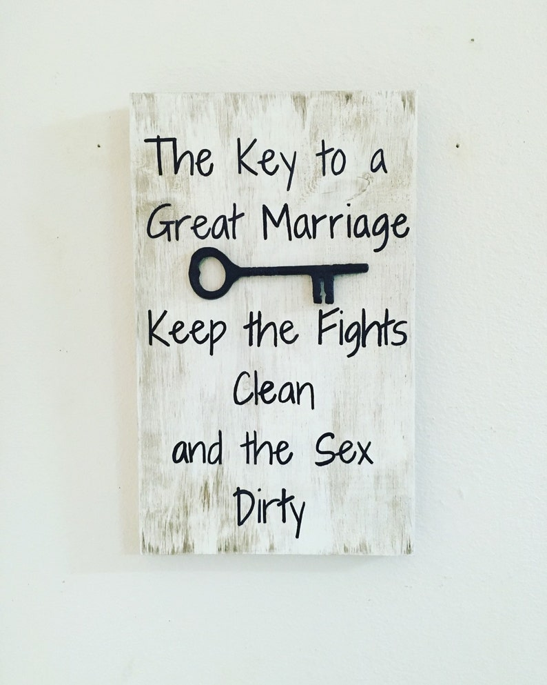 Marriage quote The key to marriage keep the fights clean and image 0