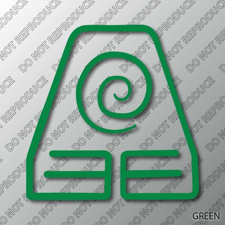 Avatar 3 2021: Erde Königreich Symbol Avatar TLABS Themen Vinyl-Aufkleber
