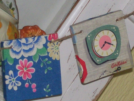 Cath Kidston Fabric empavesado Boda Fiesta Shabby Chic Vintage Decoraciones 10FT