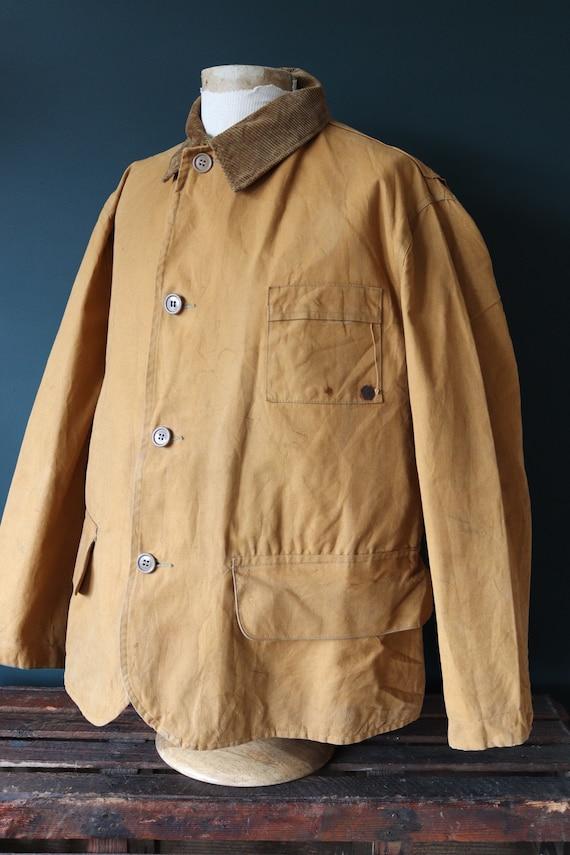 Vintage 1930 30s 1940s 40s Duxbak Utica Mohawk tan