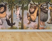 Items similar to Where The Wild Things Are Wall Wall Mural wild