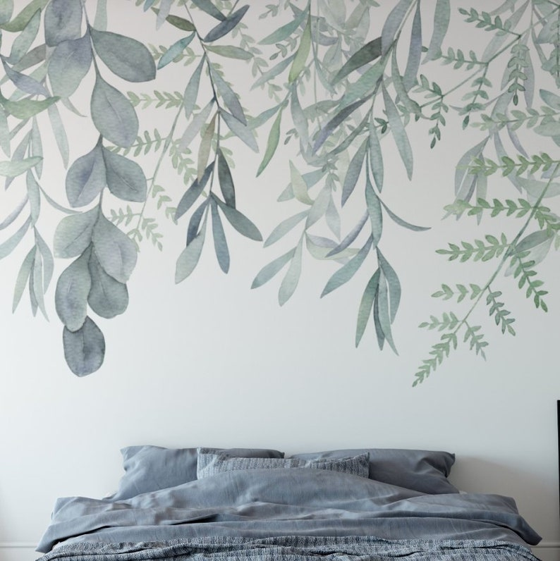 Rainforest Wallpaper Mural Peel and Stick Wall Mural image 0