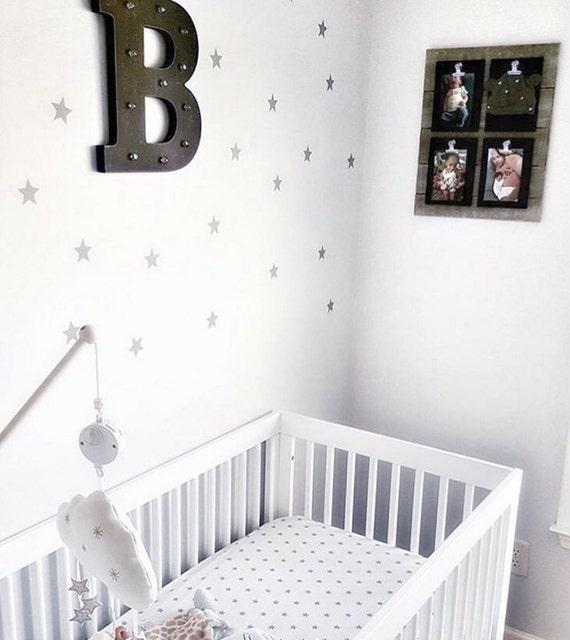 Star Decals Vinyl Star Decals Nursery Bedroom Set of Star Wall Decals Vinyl  Decals Girls Boys Accent Wall Star Decals Housewares