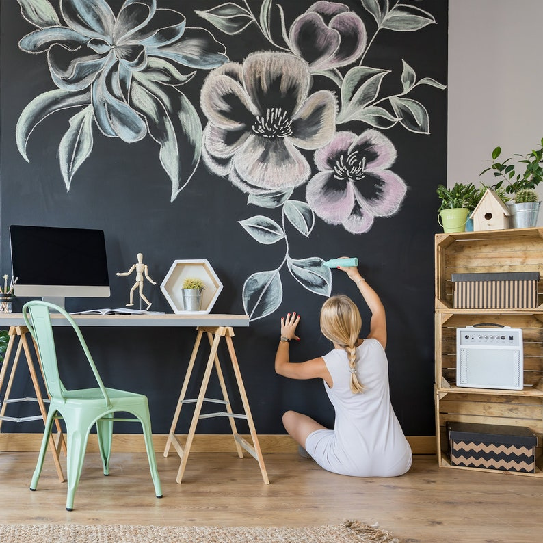 Chalkboard Wall Decal DIY Extra Large Sticker