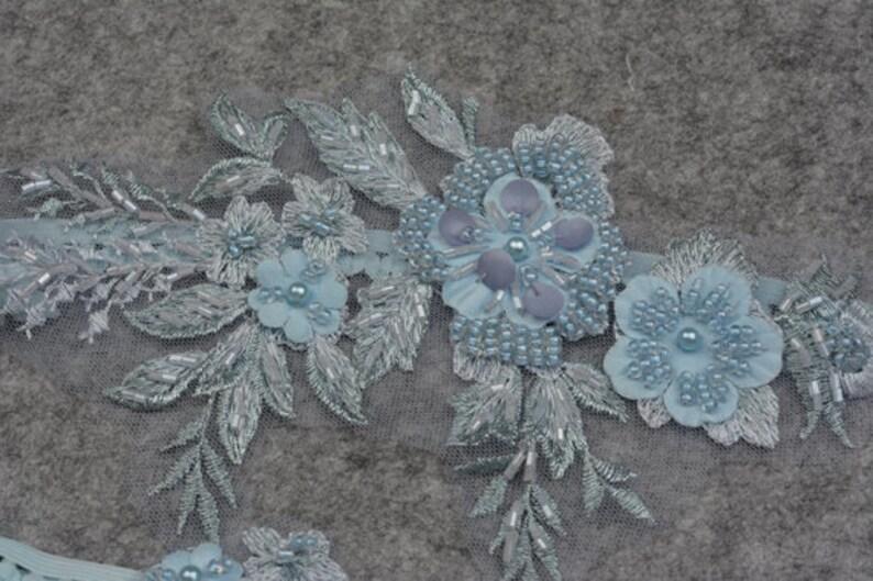 beaded floral garter,garters for wedding blue bridal garter wedding garter set bride garter set,toss garter something blue garter