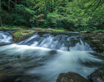 Rushing Waters - Fine Art Photography by Mike Sutton Jr.
