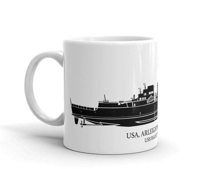 KillerBeeMoto: Arleigh Burke Class Destroyer Custom Coffee Mug With Vessel Name Option