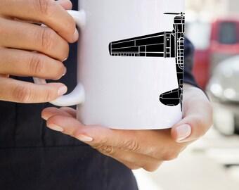 KillerBeeMoto: T-6 Texan Airplane Coffee Mug