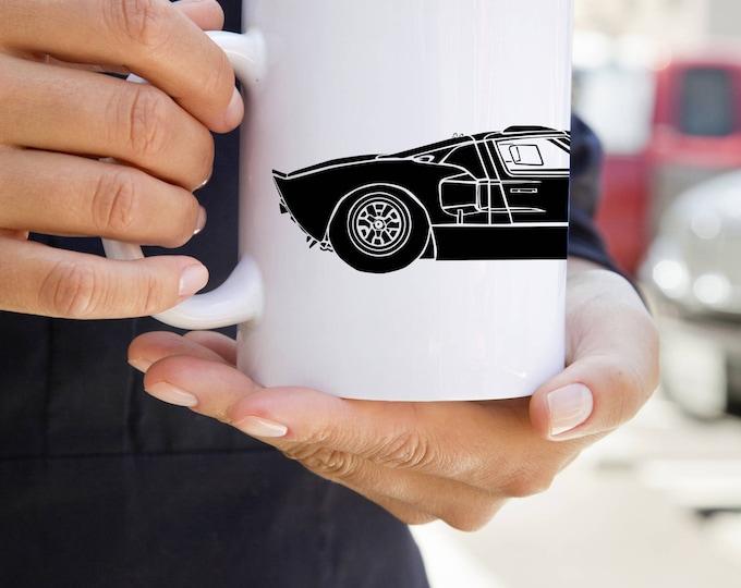 KillerBeeMoto:    Limited Release LeMans Race Car On Coffee Mug