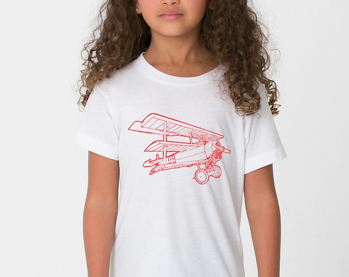 KillerBeeMoto: The Red Baron's Fokker Dr. 1 Cartoon Style Short & Long Sleeve Shirt