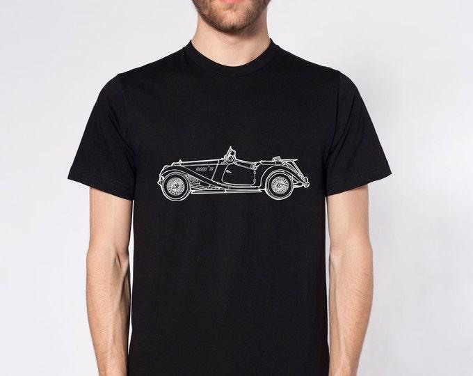 KillerBeeMoto: Limited Release Vintage 1950's British Sport Scar Short or Long Sleeve T-Shirt