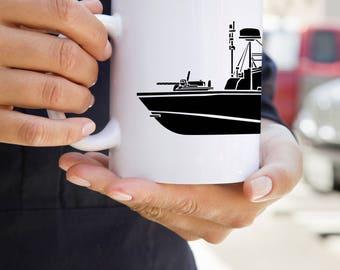 KillerBeeMoto:    Vietnam Era PBR River Patrol Boat