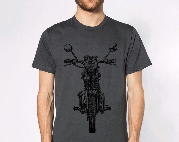KillerBeeMoto: Limited Release Hand Drawn Vintage British Engineered Motorcycle Short Or Long Sleeve T-Shirt