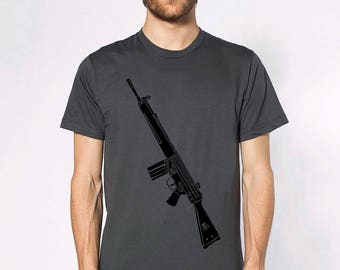 KillerBeeMoto: Limited Release G3 Battle Rifle Short or Long Sleeve T-Shirt