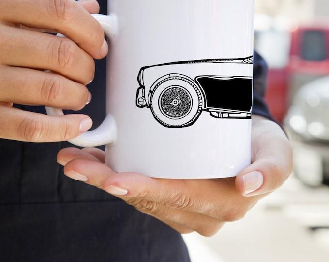 KillerBeeMoto:     Coffee Mug Limited Release Vintage British Sports Car