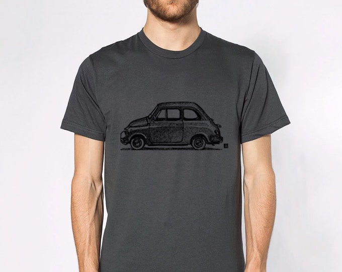 KillerBeeMoto: Limited Release Hand Drawn Italian Styled Compact Car Short And Long Sleeve Shirt