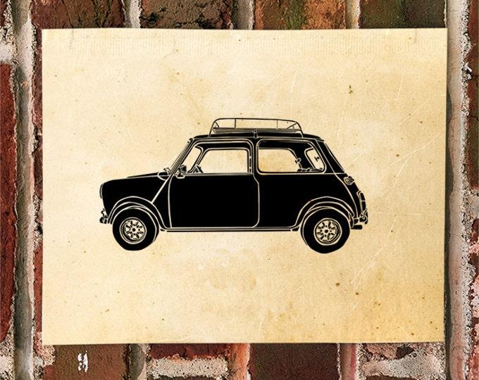 KillerBeeMoto: Limited Print Vintage Micro Car Automotive Print Print 1 of 50