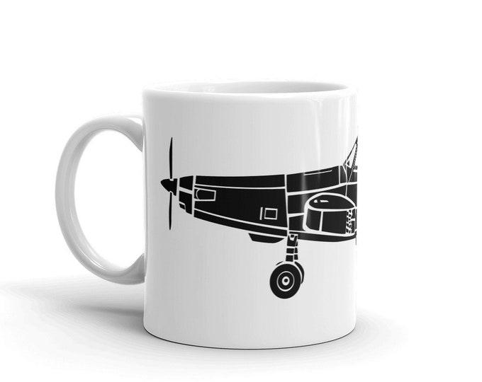 KillerBeeMoto: Limited Release Vintage Agricultural Farming Airplane Sprayer Coffee Mug