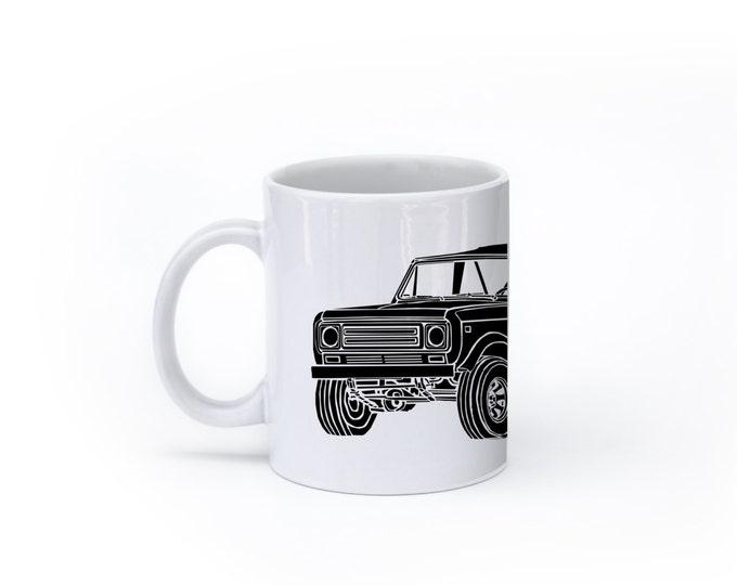 KillerBeeMoto:   Limited Release Vintage Off Road Vehicle Truck Coffee Mug (White)