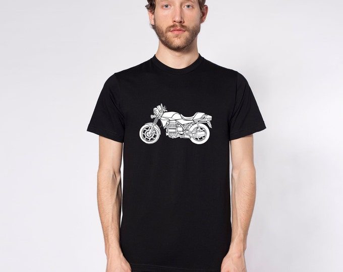 "KillerBeeMoto: Limited Release 1980's Germanic Motorcycle ""Flying Brick""  Short And Long Sleeve Motorcycle Shirts"