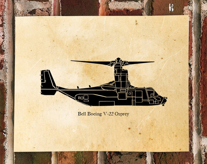 KillerBeeMoto: V-22 Osprey Limited Print