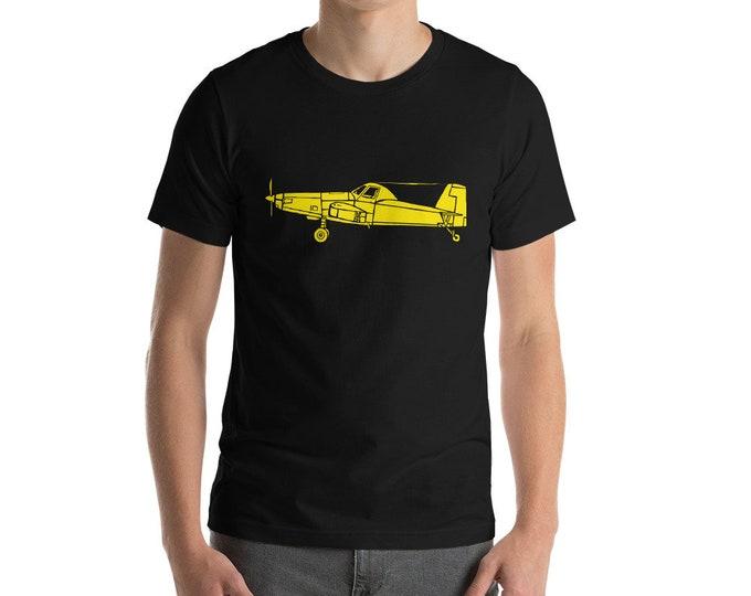 KillerBeeMoto: Vintage Agricultural Farm Sprayer Aircraft Short Or Long Sleeve T-Shirt
