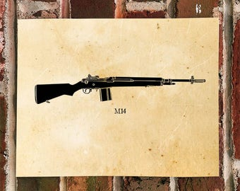 KillerBeeMoto: M4 Rifle Print