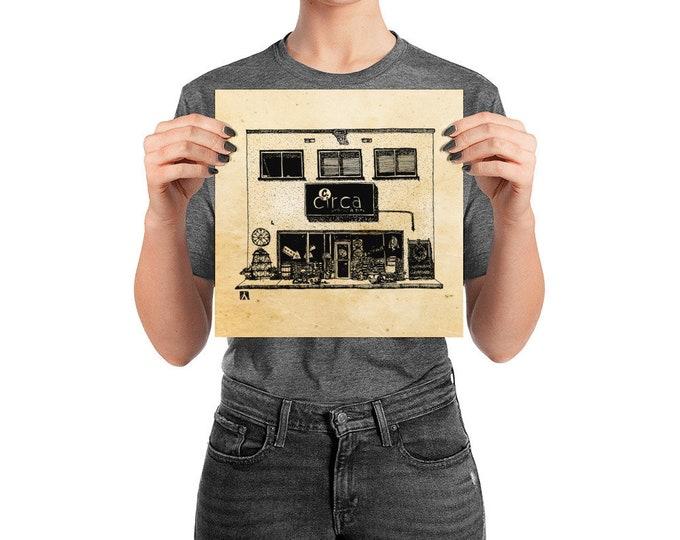 KillerBeeMoto: Charlottesville Area Bucket List Circa Antiques Shop Ink Sketch Drawing On Various Mediums