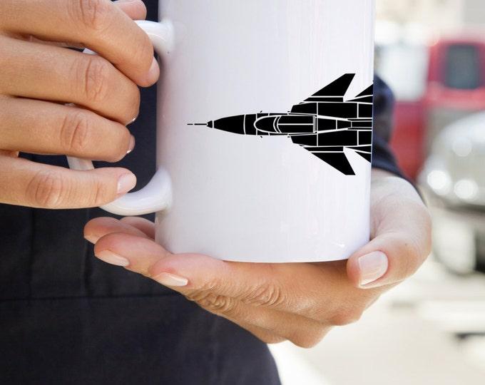 KillerBeeMoto: Coffee Mug JAS 39 Gripen Fighter Jet
