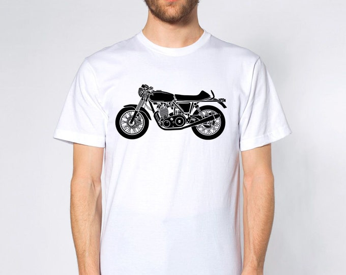 KillerBeeMoto: Limited Release British Engineered 750cc Cafe Racer Short & Long Sleeve Motorcycle Shirts
