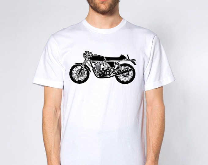 KillerBeeMoto: Limited Release British Cafe Racer Short & Long Sleeve Motorcycle Shirts