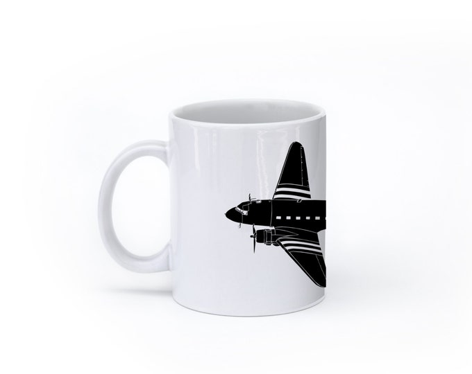 KillerBeeMoto:  C-47 Airplane Coffee Mug