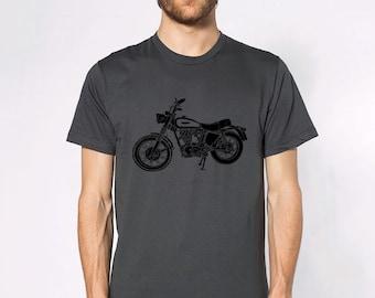 KillerBeeMoto: Limited Release Italian Engineered Dirt Bike Scrambler Short And Long Sleeve Shirt