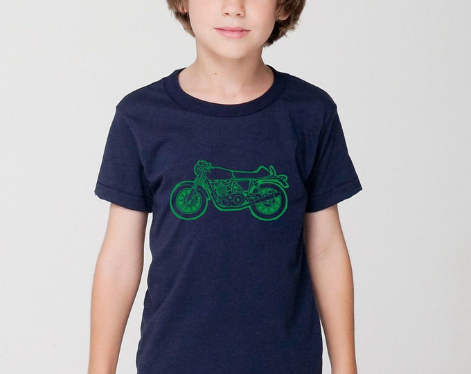 KillerBeeMoto: Limited Release British Engineered 750cc Cafe Racer Short & Long Sleeve Motorcycle Shirts Cartoon Version