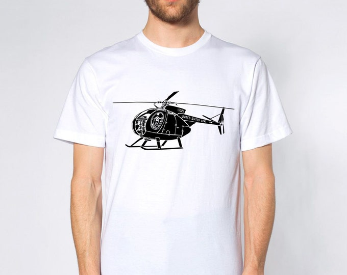KillerBeeMoto: OH-6A Cayuse Helicopter Short & Long Sleeve Shirt