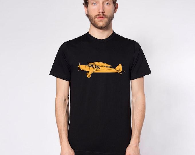 KillerBeeMoto: Limited Release Piper Super Cub Recreational Aircraft Short Sleeve T-Shirt