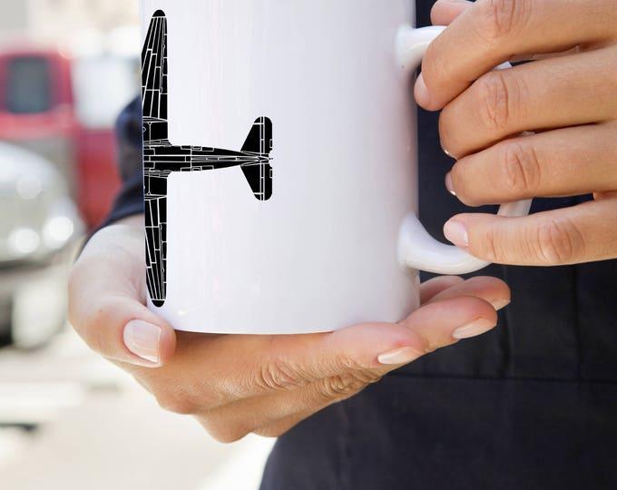 KillerBeeMoto:  DC-3 Airplane Coffee Mug