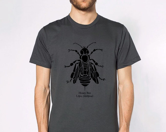 KillerBeeMoto: Honey Bee (Apis Mellifera) Short & Long Sleeve Shirts
