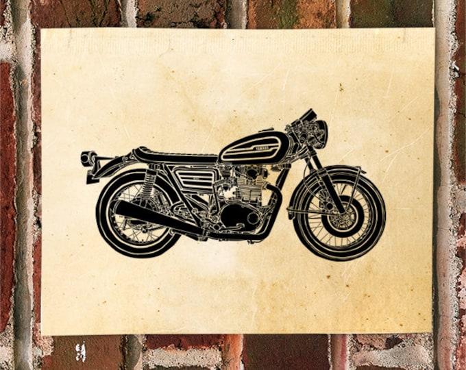 KillerBeeMoto: Limited Print Yamaha XS650 Cafe Racer 1 of 50