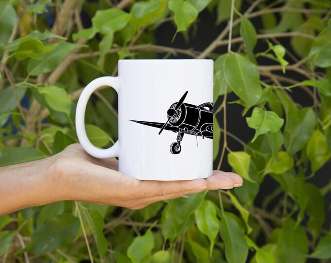 KillerBeeMoto:  7W Executive Plane Coffee Mug