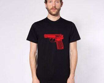 KillerBeeMoto: Limited Release Soviet Makarov Pistol Short or Long Sleeve Shirt