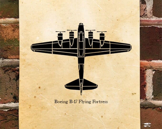 KillerBeeMoto: Limited Print B-17 Flying Fortress Bomber Aircraft Print 1 of 100