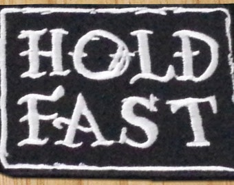 KillerBeeMoto: Hold Fast Patch 2.5 Inches by 2.0 Inches