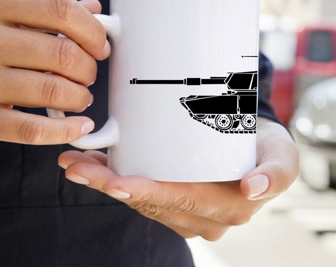KillerBeeMoto:   Coffee Mug  M1 Abrams Main Battle Tank Coffee Mug