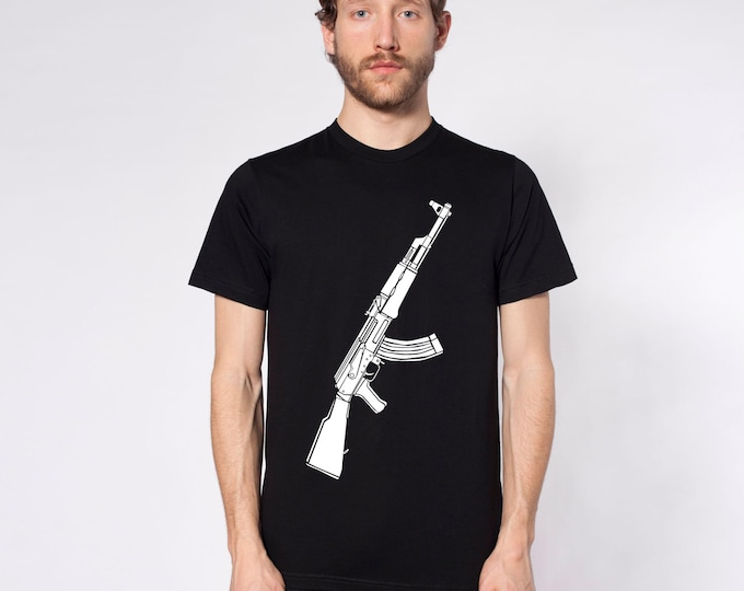 KillerBeeMoto: Limited Release AK47 Kalashnikov Assault Rifle Short or Long Sleeve T-Shirt
