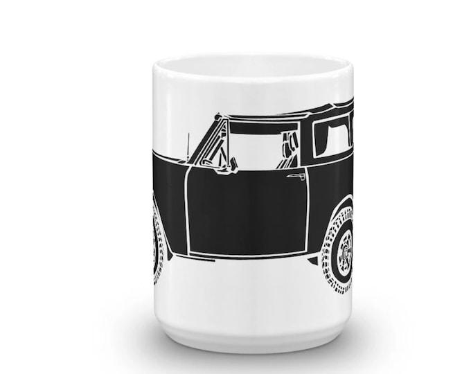 KillerBeeMoto: Limited Release Vintage SUV International Scout II Illustration On A Coffee Mug