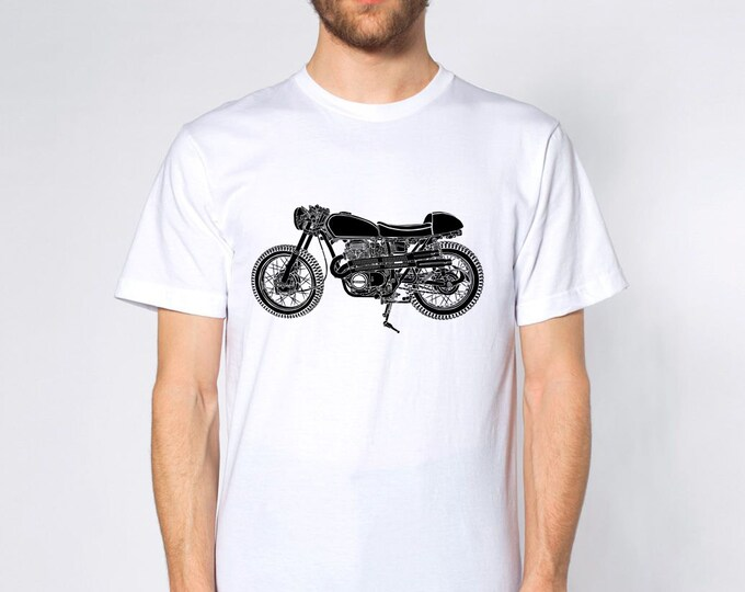 KillerBeeMoto: Limited Release Custom Vintage Japanese Scrambler Cafe Racer Motorcycle Short And Long Sleeve Shirts