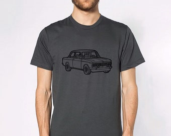 KillerBeeMoto: Limited Release Vintage German Engineered Sports Sedan Short & Long Sleeve Shirt Cartoon Style