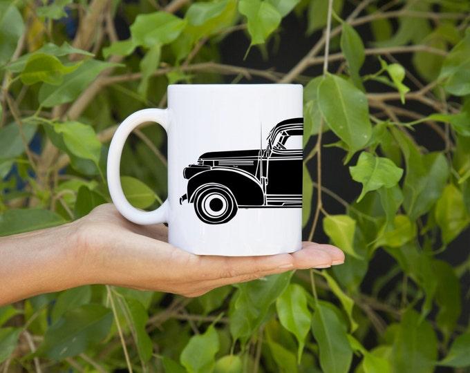 KillerBeeMoto:    Coffee Mug Limited Print American Engineered Vintage Pick-Up Truck