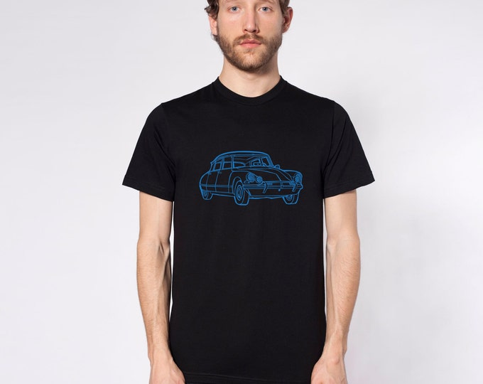KillerBeeMoto: Limited Release Vintage French Car  Short & Long Sleeve Shirt Cartoon Style